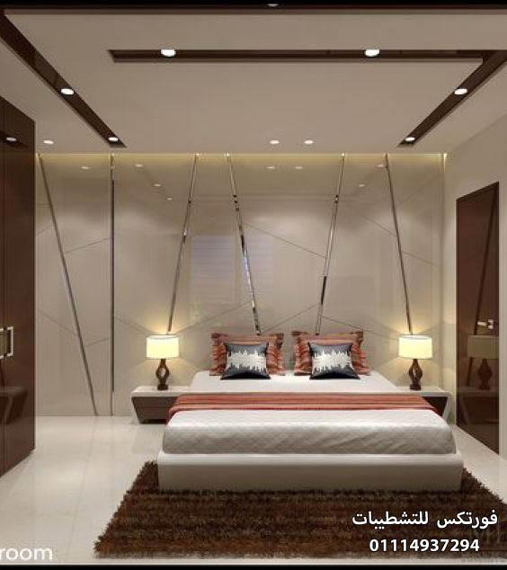 ديكورات جبس غرف النوم (1)