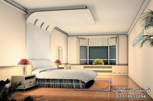 ديكورات جبس غرف النوم (11)