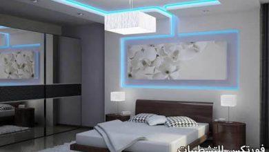 صورة ديكورات جبس غرف النوم