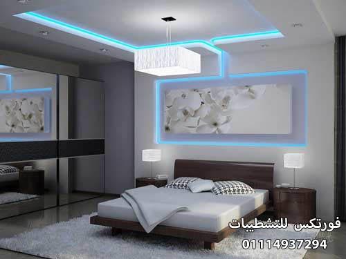 ديكورات جبس غرف النوم (3)