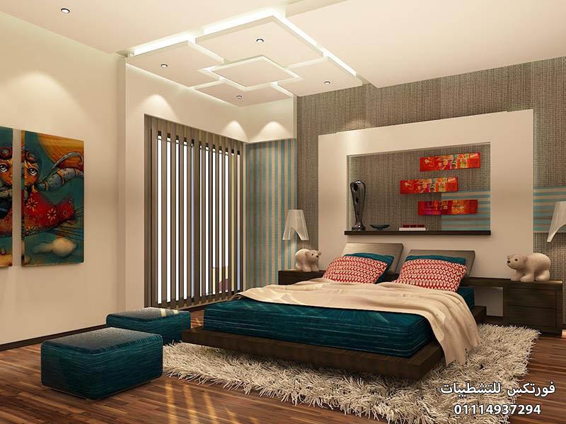 ديكورات جبس غرف النوم (5)