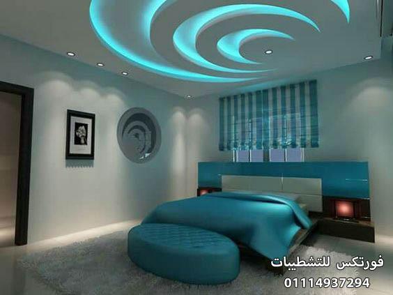 ديكورات جبس غرف النوم (6)