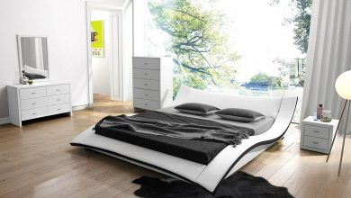 تصميمات غرف نوم عصرية مودرن (6)