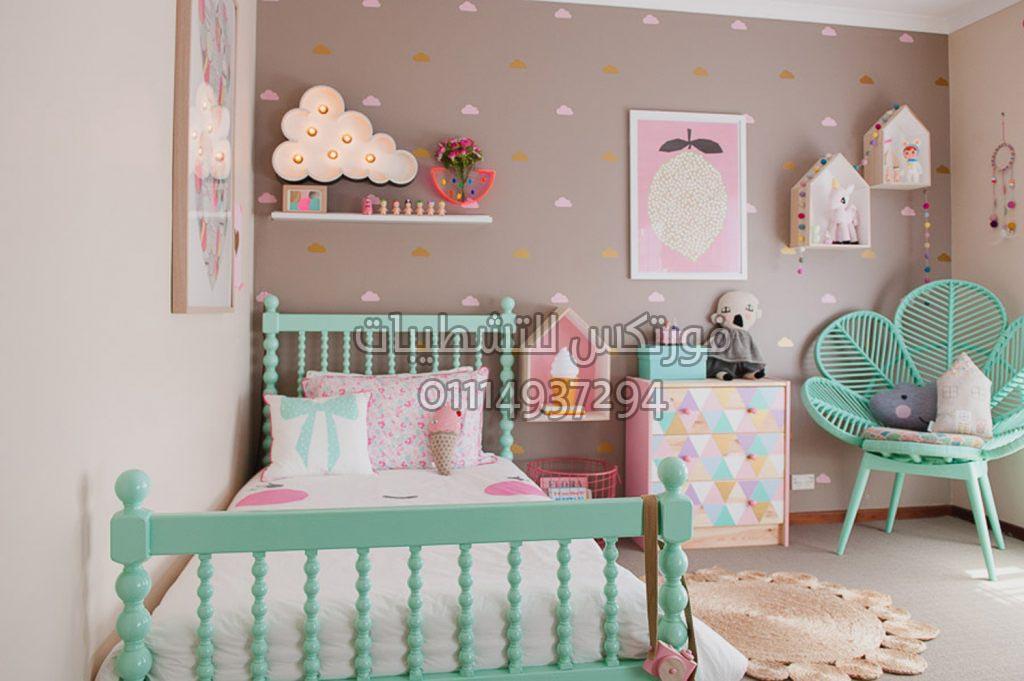 تصميمات وأفكار غرف نوم أطفال (3)