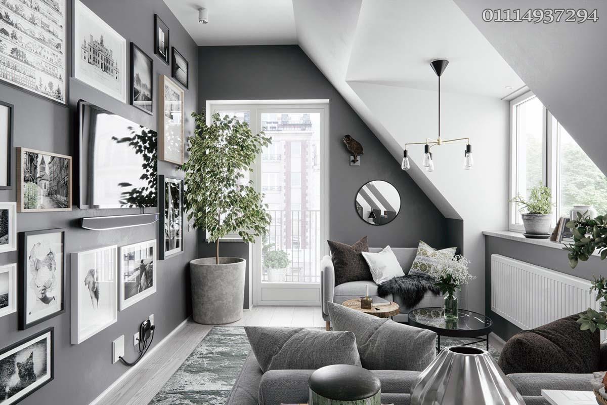 تصميم غرف ليفينج (2)