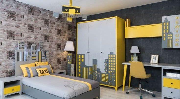 تصميم غرفة نوم اطفال مودرن